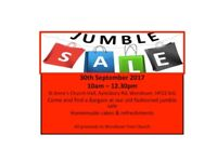 JUMBLE SALE - WENDOVER - 30th Sept 2017
