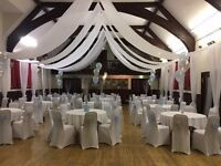 Chair Cover and Sash Hire - DIY Wedding Party Event Decorations