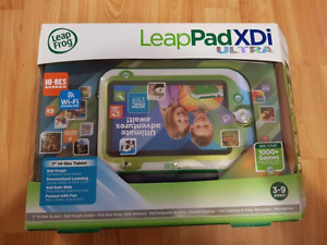 Leap Pad XDI Ultra with 4 games