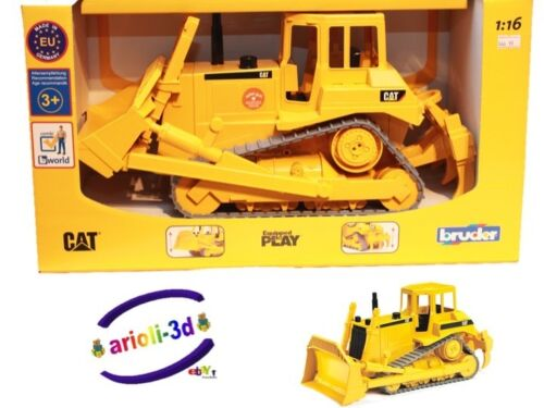 Outdoor Construction Toys : Bruder toys cat bulldozer truck construction