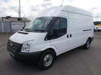 Ford Transit High Roof Van Tdci 100Ps Euro 5 DIESEL MANUAL WHITE (2013)