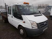 Ford Transit D/Cab Chassis Tdci 100Ps [Drw] [6] TIPPER DIESEL MANUAL (2011)