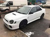 Subaru Impreza wrx 51e white - rare