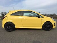 2013 Vauxhall Corsa 1.2 Limited Edition 3dr VRX body kit