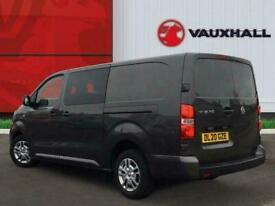 2020 Vauxhall Vivaro 2.0 Turbo D 3100 Sportive Crew Van 5dr Diesel Manual L2 H1