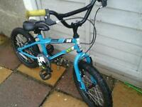 Little boys bmx 18inch wheels suit 4ish to 6,7 ish good working order nice bike