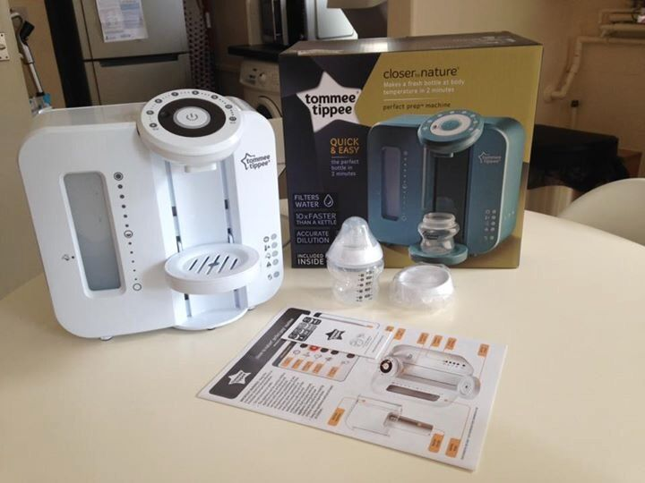 Tommee Tippee Perfect Prep Machine Box Instructions New Bottle