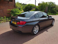 BMW 525D M Sport, 8 speed auto, Pro Nav, Extended bluetooth - Oyster leather interior