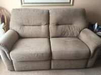 sofa and two chairs , good as new