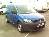 Volkswagen Caddy C20 TDI 102PS STARTLINE VAN DIESEL MANUAL BLUE (2014)