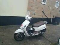 125 cc moped