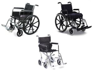 Wheelchairs – Transport, Manual, Custom & More