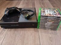 Xbox One Bundle - 11 GAMES!