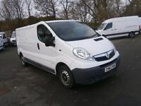 Vauxhall Vivaro LWB 2.0 CDTI 115ps 2.9t Van DIESEL MANUAL WHITE (2013)