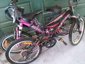 Pigeon pair kids bikes Woodcroft Morphett Vale Area Preview