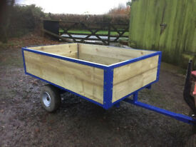 Lawn Mower /Stable Trailer