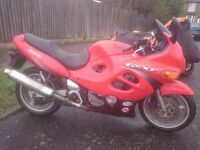 Suzuki GSX600F, Brand new mot, goes great. Bought another bike, reason for selling, very fast
