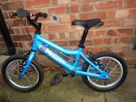 Ridgeback MX14 Kids Bike Blue