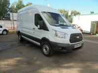 Ford Transit T350 2.2 Tdci 125Ps H3 Van High Roof DIESEL MANUAL WHITE (2014)