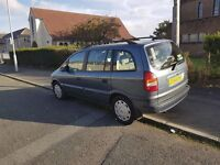 for sale zafira mot until april 2017 good service record new battery drives with no faults