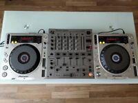 Pioneer CDJ 800 Mk2 Pair & DJM 600