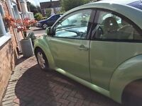 VW Beetle X Reg