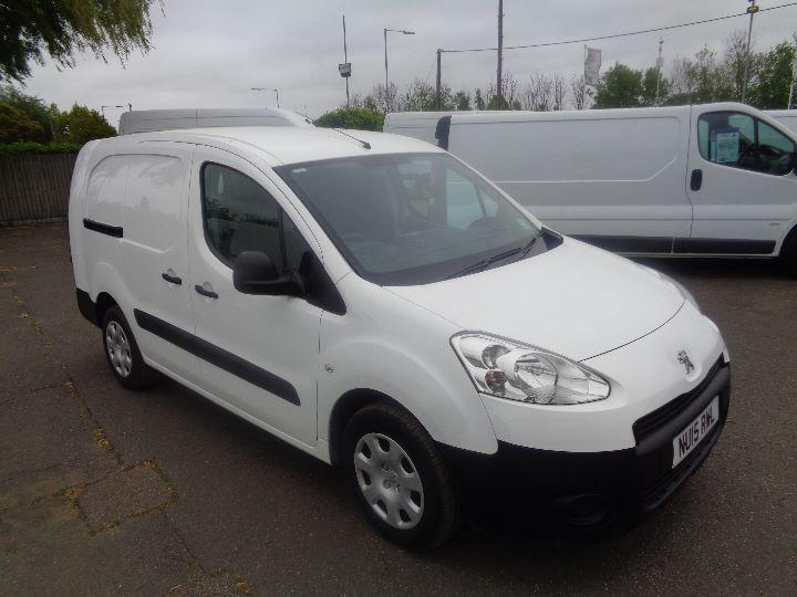 Peugeot Partner 716 S 1.6 Hdi 92 Crew Van DIESEL MANUAL WHITE (2015)