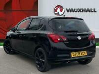2018 Vauxhall Corsa 1.4i Ecotec Sri Vx Line Nav Black Hatchback 5dr Petrol 90 Ps
