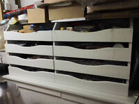 shop display drawers / counter top