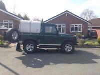 Land Rover - defender - 90 - pickup