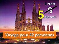 Voyage Espagne-France-Angleterre