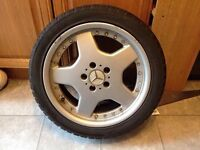 """Mercedes Amg split style 17"""" alloys and tyres"""