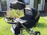 Emmaljunga pram/pushchair excellent condition £100