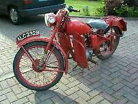 Bsa bantam 01 gpo 125cc excellent