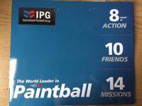 10 Paintball Tickets (IPG International Paintball Group)