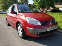 Renault Scenic 1.6 VVT Dynamique 2006 1Yr MOT 1Yr Warranty Ful History