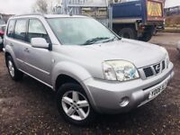 2006 Nissan X Trail *New Clutch & Flywheel*1 Owner**MOT March 2019**Fully Stamped Ser History