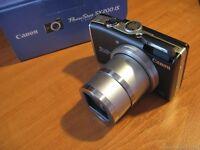 canon sx200 si digital camera, boxed 12 x Zoom