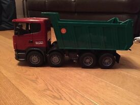 Bruder tipping lorry