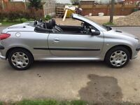 Peugeot 206 Convertable for sale! Stunning car!