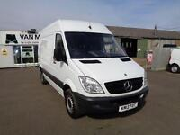 Mercedes-Benz Sprinter 313 CDI MWB 3.5T HIGH ROOF VAN DIESEL MANUAL WHITE (2013)