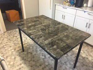 Dining Table, End Table, & Chest