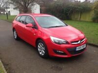 Vauxhall Astra 1.6 i VVT 16v Design Sport Tourer 5dr, 6 MONTH WARRANTY, FRONT & REAR PARKING SENSORS