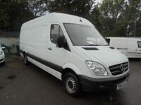 Mercedes-Benz Sprinter 313 CDI 3.5T Van Lwb High roof DIESEL MANUAL WHITE (2013)