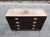 Miliatry Style Chest Of Drawers- GREAT QUALITY HEAVY!