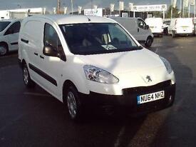 Peugeot Partner 716S 1.6 HDI 92 CREW VAN DIESEL MANUAL WHITE (2014)