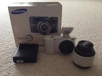 Samsung NX1000 Smart Camera White
