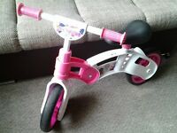 Kool sports balance bike pink