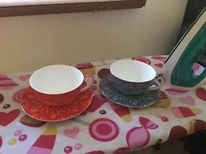 2x T2 large cup & saucer Singleton Singleton Area Preview