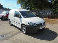 Volkswagen Caddy C20 1.6 Tdi 102Ps Van SLD DIESEL MANUAL WHITE (2012)